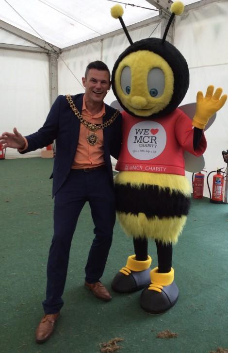 We Love MCR Mascot