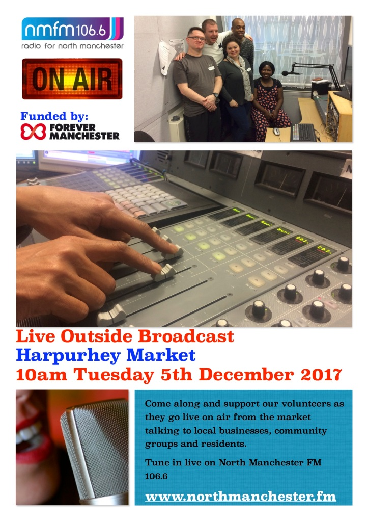 Outside Broadcast Leaflet and Poster