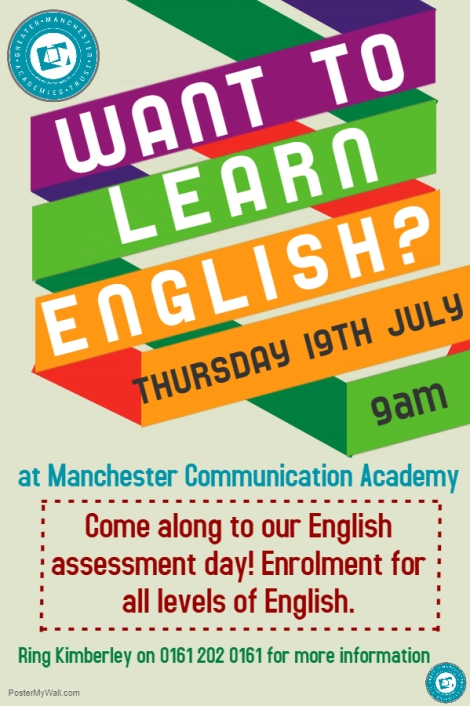 English assessment day