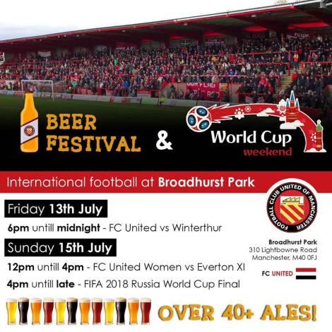 fc united beer