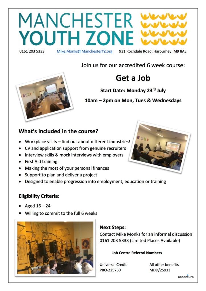 Get A Job Advert