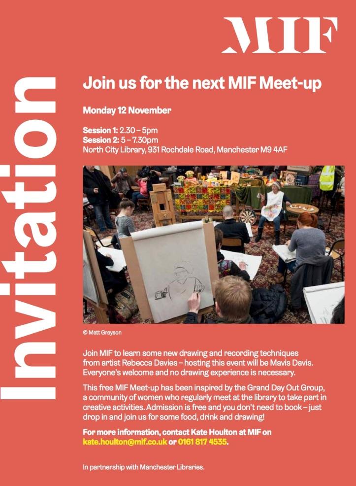 MIF Meet up at NCL 121118 Invitation