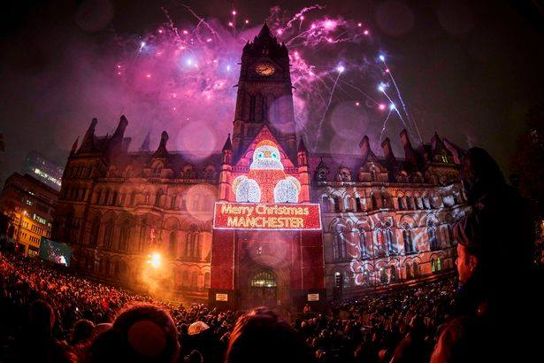 The 2018 Manchester Christmas Lights switch-on | North Manchester FM ...